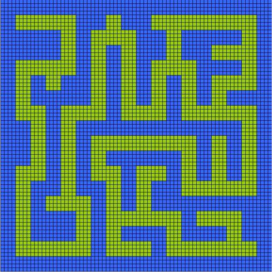 Maze_Grid_Pattern